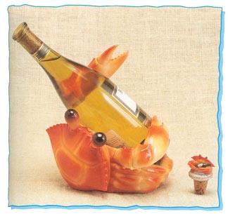 Crab Wine Holder-0