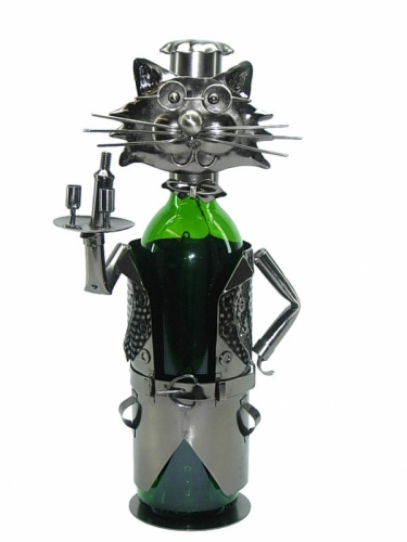 Cat Waiter Bottle Holder-0