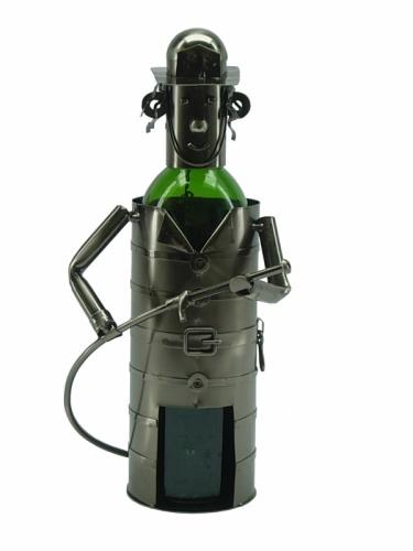 Fireman Wine Bottle Holder-0