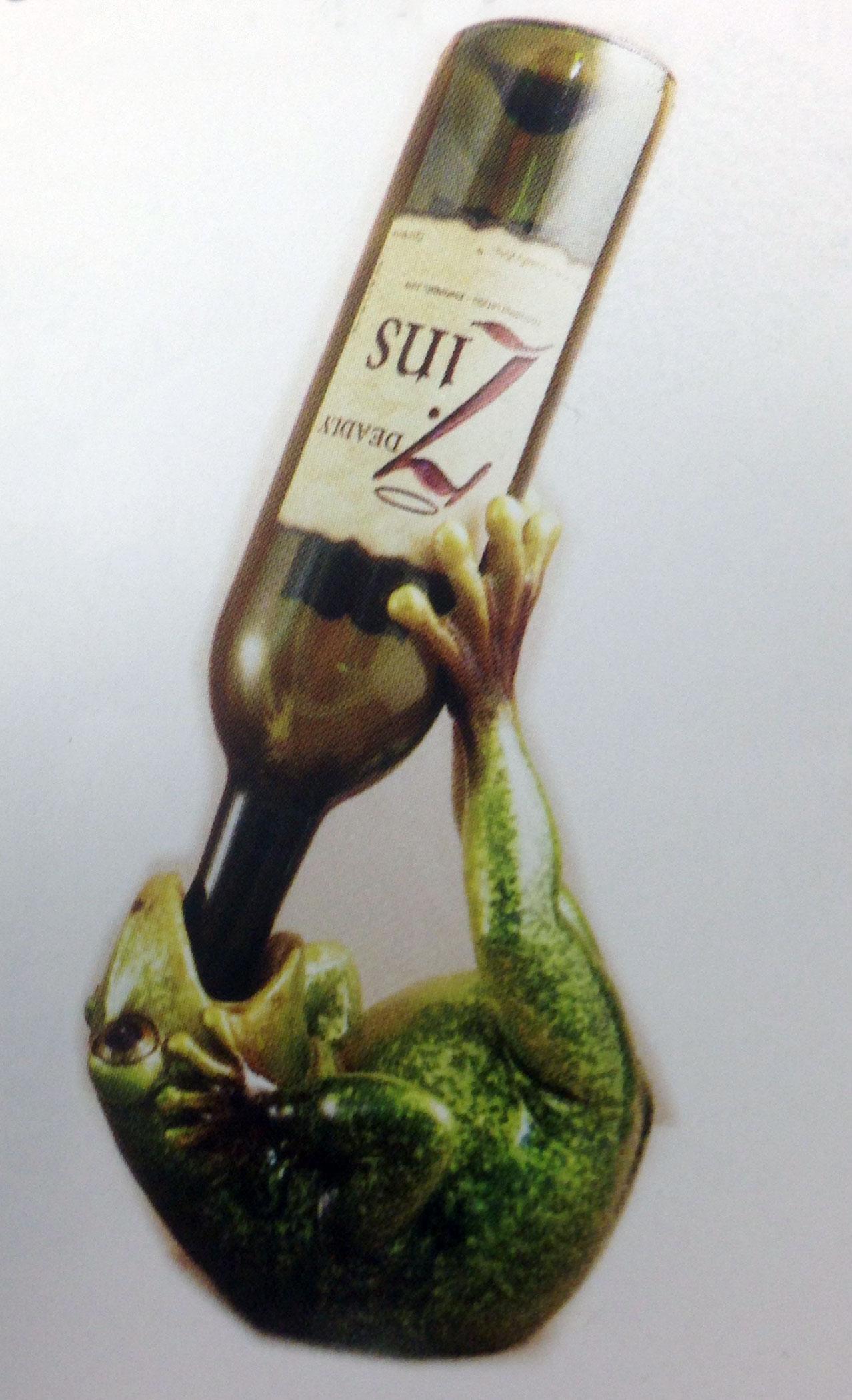 Frog Wine Bottle Holder-0