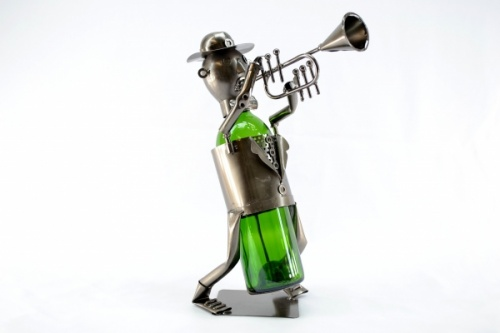 Trumpet Wine Bottle Holder-0