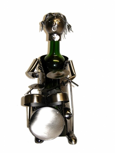Drummer Wine Bottle Holder-0